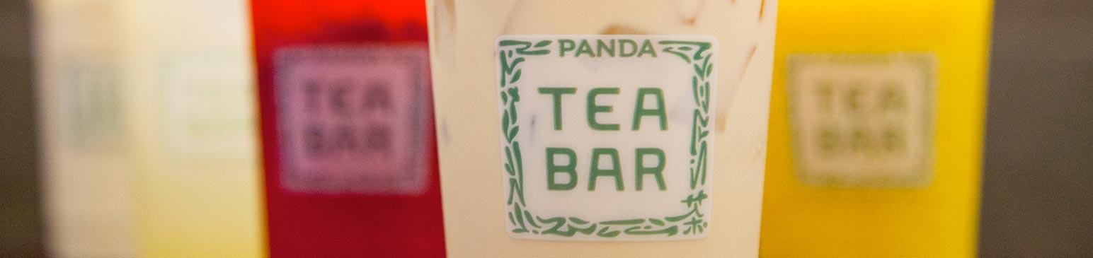 Tea Bar Menu Panda Express Chinese Restaurant